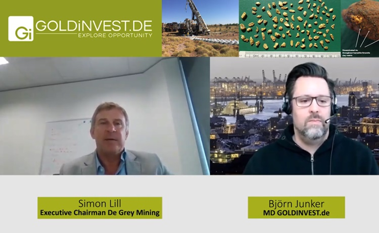 De Grey Mining Screenshot Interview March 2019