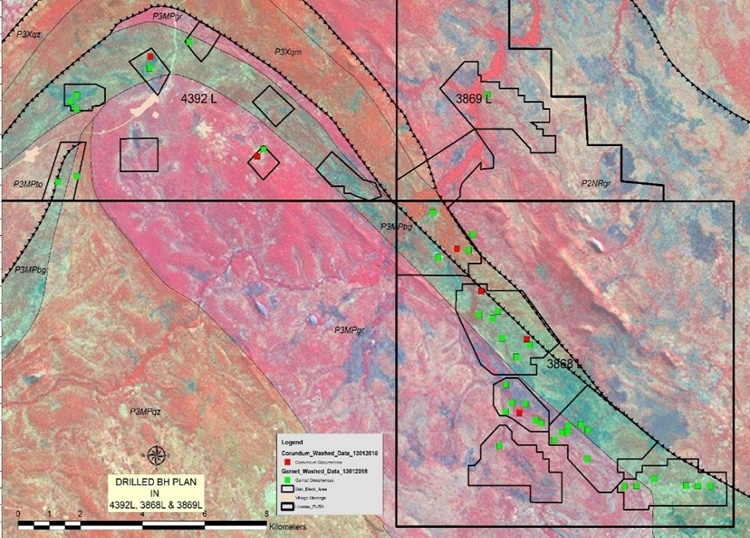 Fura Gems Borehole intersected with primary and secondary mineralisation