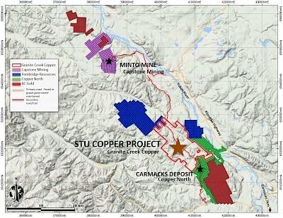 GCX Die Minto Mine gehörte bis 2019 Capstone Mining