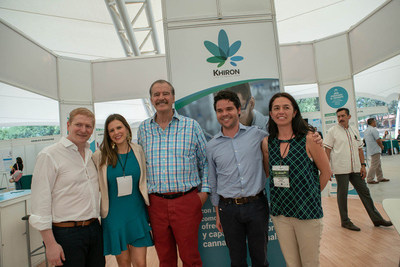 Khiron Life Science Team mit Vicente Fox