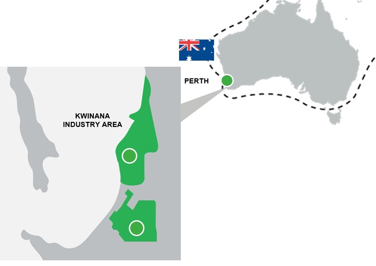 Kwinana Industrial Area Location