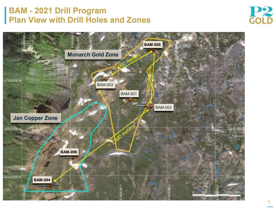 P2 Gold Das BAM Kupfer Gold Projekt im Goldenen Dreieck von British Columbia