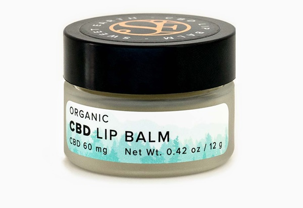 Bio-CBD-Lippenbalsam; Foto: Sweet Earth Holdings