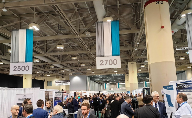 PDAC Investors Exchange floor