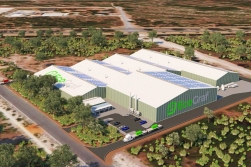 Planned graphite plant; Source: EcoGraf