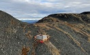 Bohrung auf dem RC-Goldprojekt im Yukon; Foto: Sitka Gold
