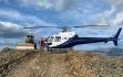 Helikopter auf dem RC Goldprojekt: Foto: Sitka Gold