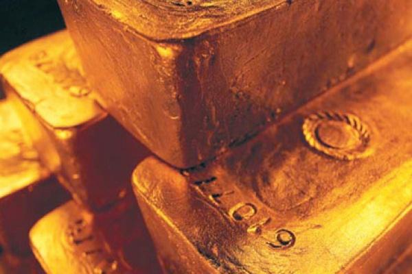 Goldbarren; Foto: Agnico Eagle Mines