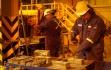 Goldbarrenproduktion auf der Veladero-Mine; Foto: Barrick Gold